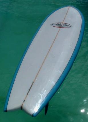 Mellowwave Retro Fish Surfboard Photos